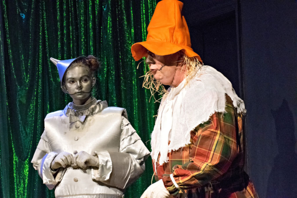 The Tin Man and the Scarecrow